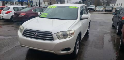 2008 Toyota Highlander for sale at TC Auto Repair and Sales Inc in Abington MA