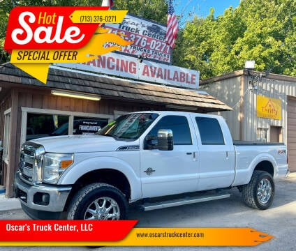 2014 Ford F-250 Super Duty for sale at Oscar's Truck Center, LLC in Houston TX