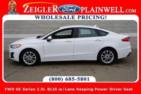 2019 Ford Fusion for sale at Zeigler Ford of Plainwell- Jeff Bishop in Plainwell MI