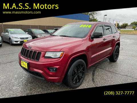 2014 Jeep Grand Cherokee for sale at M.A.S.S. Motors - MASS MOTORS in Boise ID
