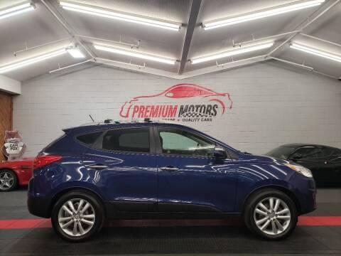 2013 Hyundai Tucson for sale at Premium Motors in Villa Park IL