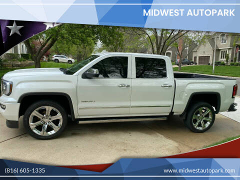 2016 GMC Sierra 1500 for sale at Midwest Autopark in Kansas City MO