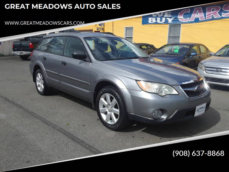 2008 Subaru Outback for sale at GREAT MEADOWS AUTO SALES in Great Meadows NJ