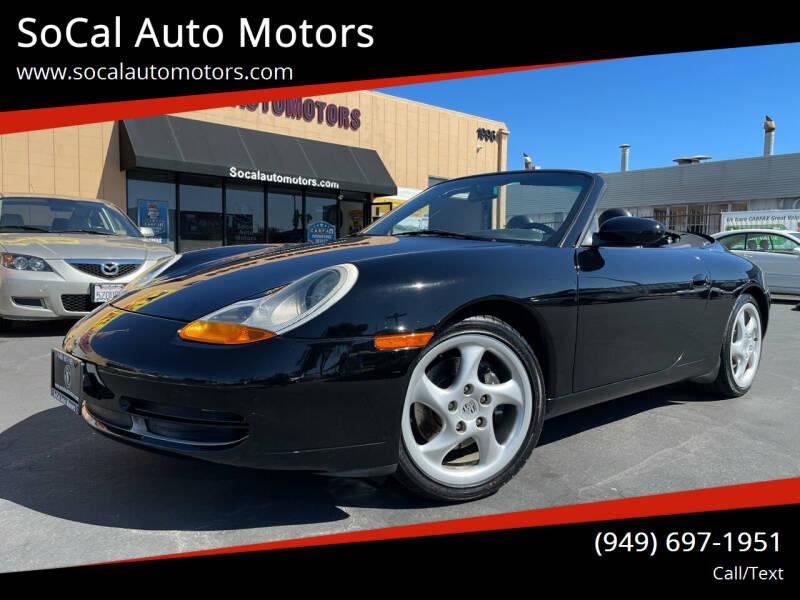1999 Porsche 911 for sale at SoCal Auto Motors in Costa Mesa CA