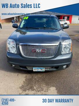2008 GMC Yukon for sale at WB Auto Sales LLC in Barnum MN