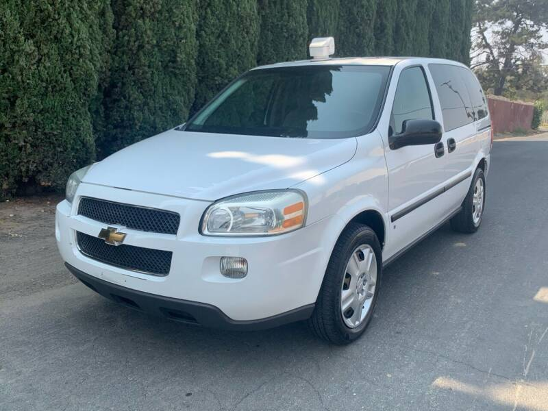 2008 Chevrolet Uplander for sale at River City Auto Sales Inc in West Sacramento CA