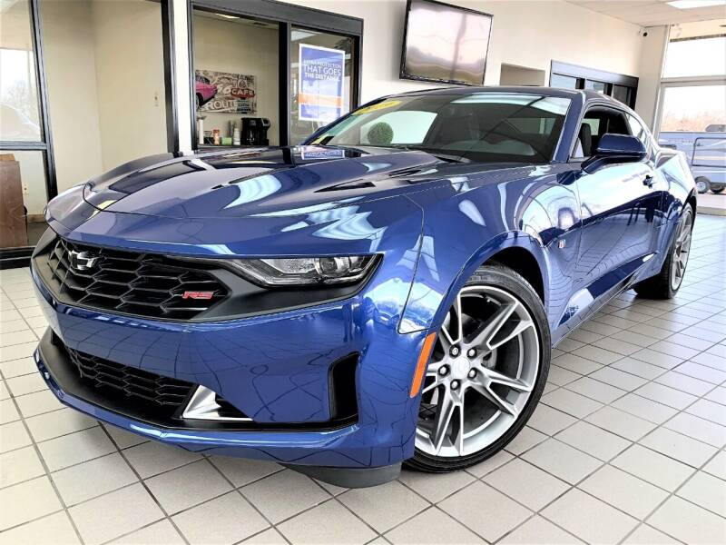 2019 Chevrolet Camaro for sale at SAINT CHARLES MOTORCARS in Saint Charles IL