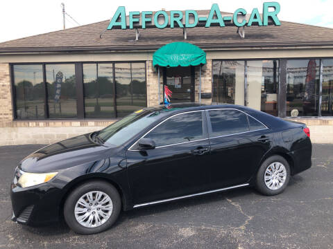2012 Toyota Camry for sale at Afford-A-Car in Moraine OH