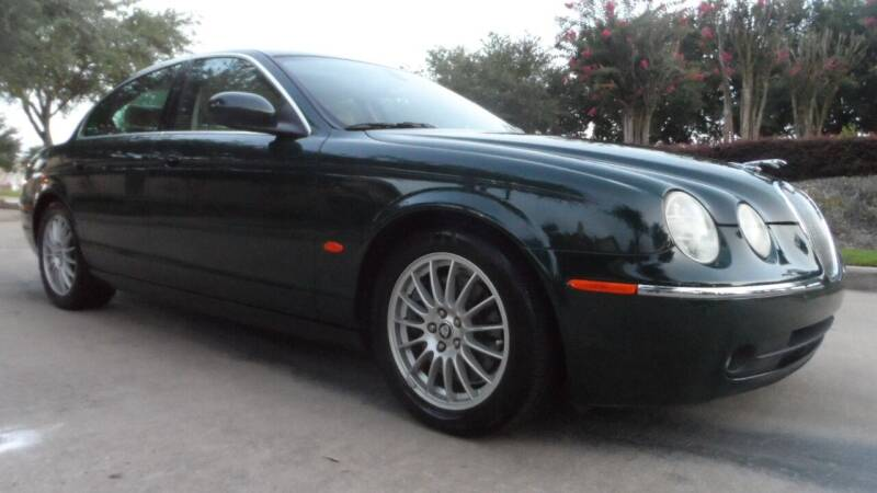 2006 Jaguar S-Type for sale at Exhibit Sport Motors in Houston TX
