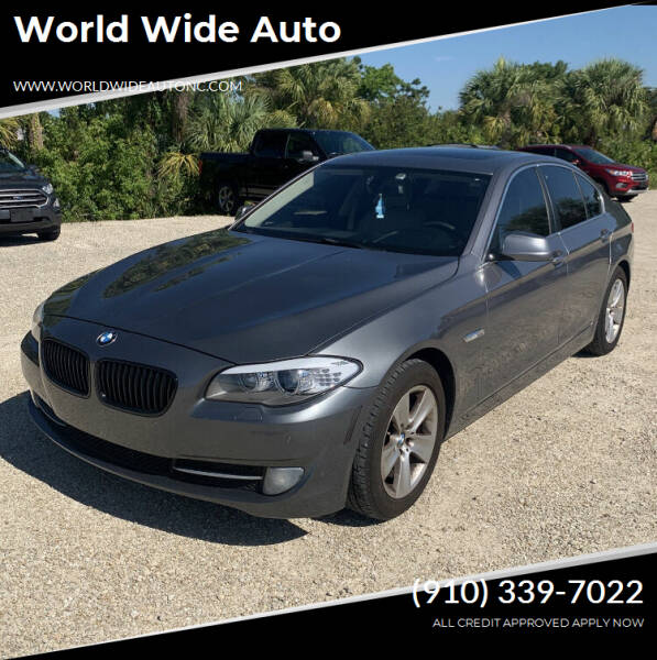 2013 BMW 5 Series for sale at World Wide Auto in Fayetteville NC
