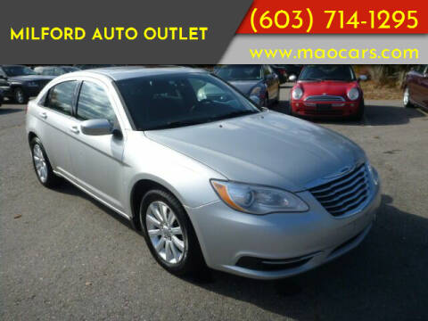 2011 Chrysler 200 for sale at Milford Auto Outlet in Milford NH