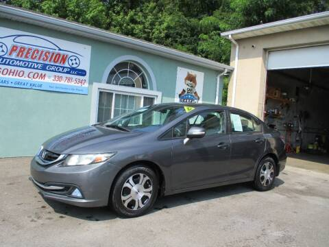 2013 Honda Civic for sale at Precision Automotive Group in Youngstown OH