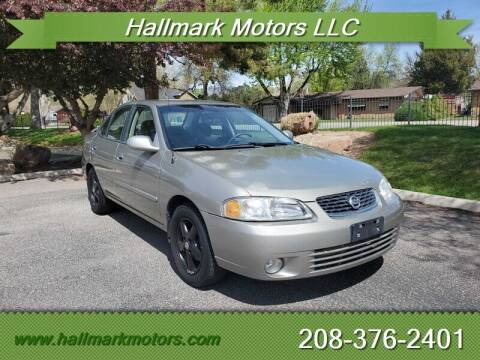 2003 Nissan Sentra for sale at HALLMARK MOTORS LLC in Boise ID