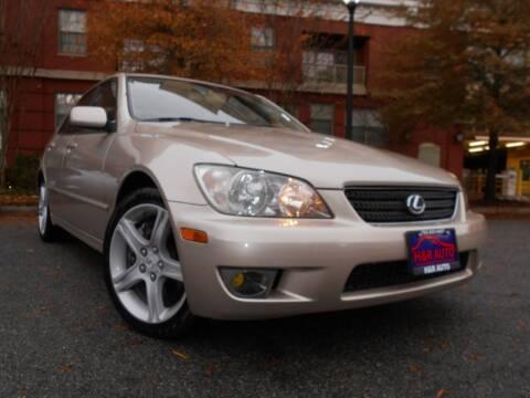 2004 Lexus IS 300 for sale at H & R Auto in Arlington VA