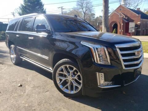 2016 Cadillac Escalade ESV for sale at McAdenville Motors in Gastonia NC
