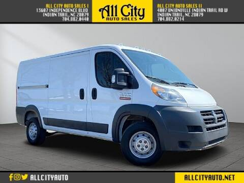 2018 RAM ProMaster Cargo for sale at All City Auto Sales in Indian Trail NC