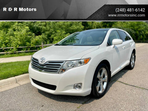 2010 Toyota Venza for sale at R & R Motors in Waterford MI