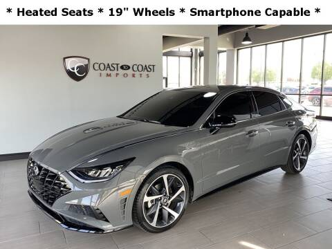 2021 Hyundai Sonata for sale at Coast to Coast Imports in Fishers IN