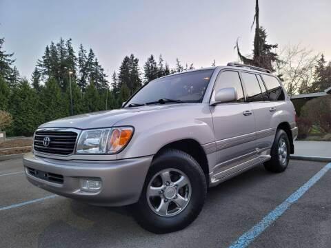 2002 Toyota Land Cruiser for sale at Silver Star Auto in Lynnwood WA