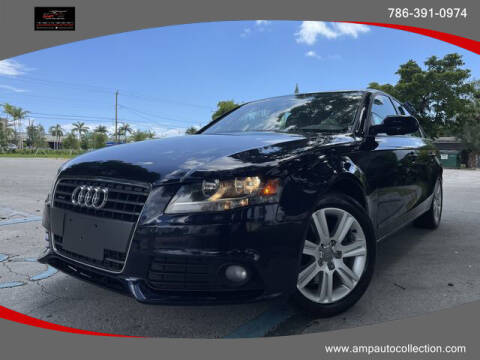 2011 Audi A4 for sale at Amp Auto Collection in Fort Lauderdale FL