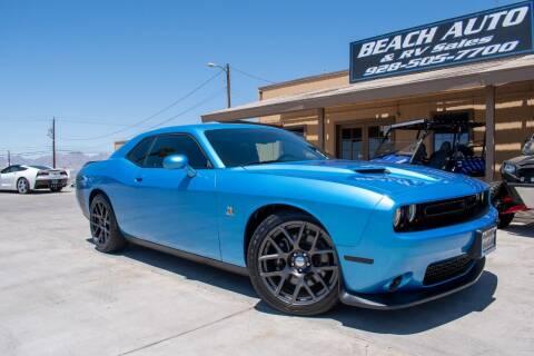 2016 Dodge Challenger for sale at Beach Auto and RV Sales in Lake Havasu City AZ