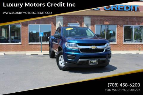 2019 Chevrolet Colorado for sale at Luxury Motors Credit Inc in Bridgeview IL