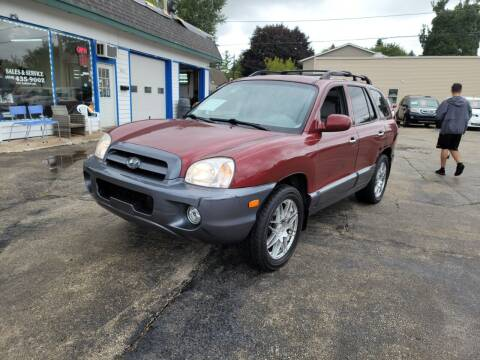 2005 Hyundai Santa Fe for sale at MOE MOTORS LLC in South Milwaukee WI