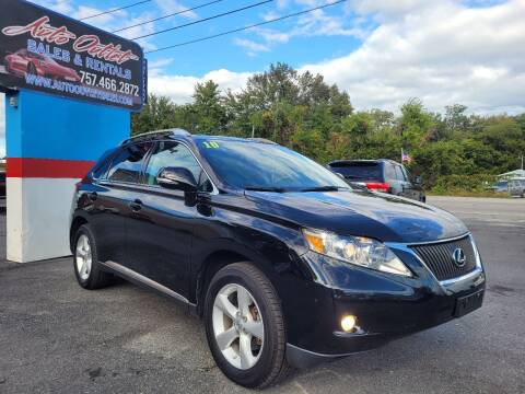 2010 Lexus RX 350 for sale at Auto Outlet Sales and Rentals in Norfolk VA