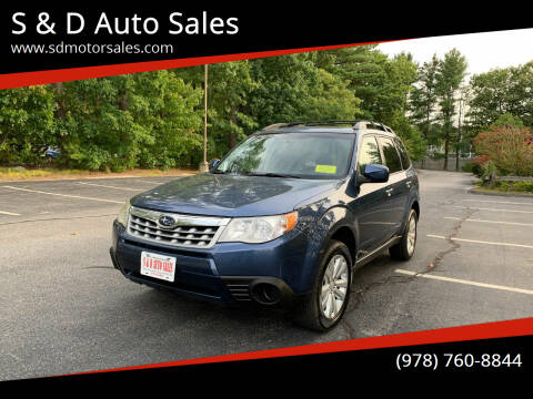 2012 Subaru Forester for sale at S & D Auto Sales in Maynard MA