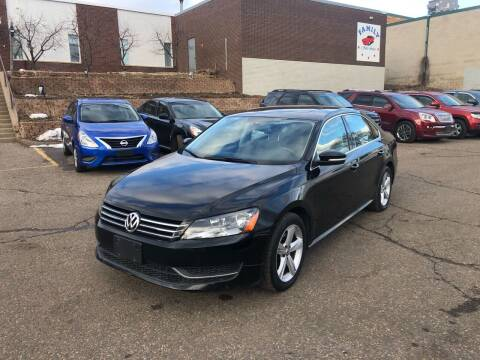 2013 Volkswagen Passat for sale at Family Auto Sales in Maplewood MN