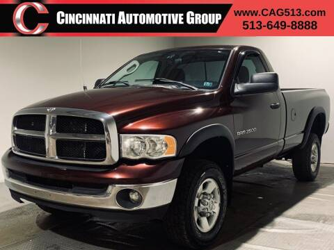 2005 Dodge Ram Pickup 2500 for sale at Cincinnati Automotive Group in Lebanon OH