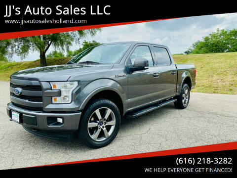 2017 Ford F-150 for sale at JJ's Auto Sales LLC in Holland MI