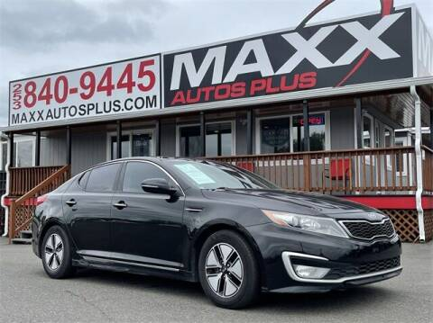 2012 Kia Optima Hybrid for sale at Maxx Autos Plus in Puyallup WA