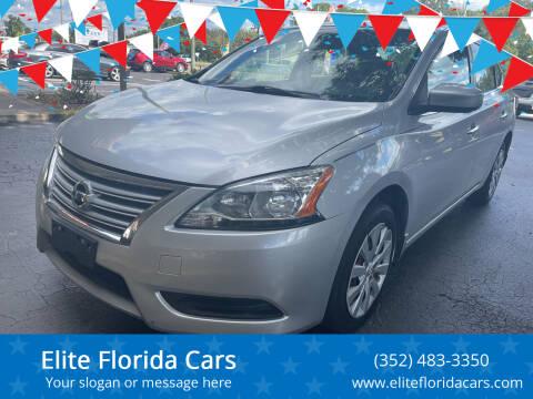 2014 Nissan Sentra for sale at Elite Florida Cars in Tavares FL