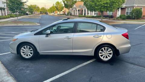 2012 Honda Civic for sale at A LOT OF USED CARS in Suwanee GA
