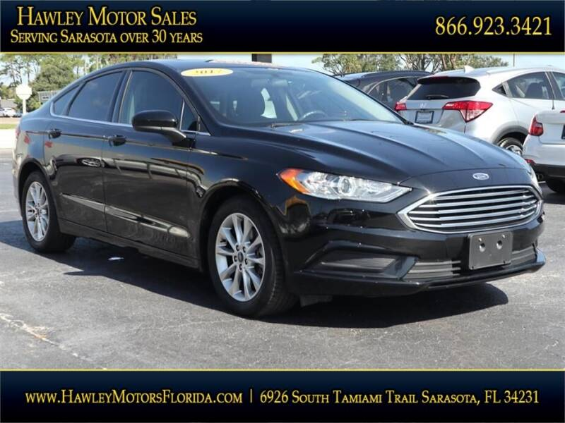 2017 Ford Fusion for sale at Hawley Motor Sales in Sarasota FL