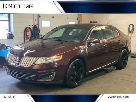 2009 Lincoln MKS for sale at JK Motor Cars in Pittsburgh PA