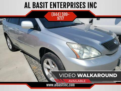 2007 Lexus RX 350 for sale at AL BASIT ENTERPRISES INC in Riverside CA