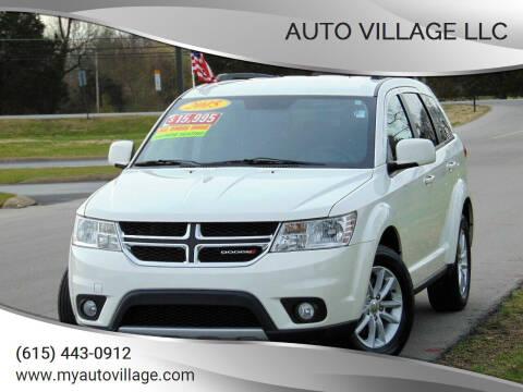 2015 Dodge Journey for sale at AUTO VILLAGE LLC in Lebanon TN