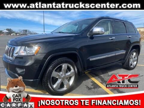 2013 Jeep Grand Cherokee for sale at ATLANTA TRUCK CENTER LLC in Brookhaven GA