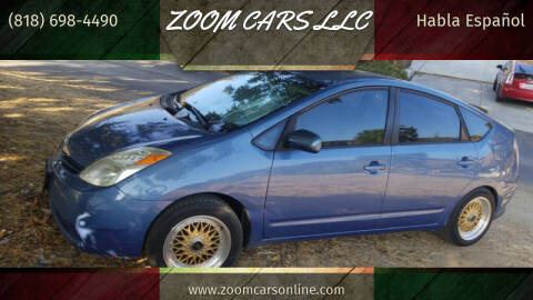 2005 Toyota Prius for sale at ZOOM CARS LLC in Sylmar CA