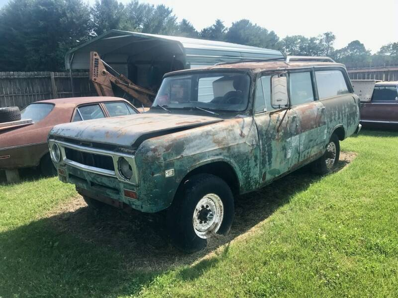 1971 International Travelall for sale at 500 CLASSIC AUTO SALES in Knightstown IN