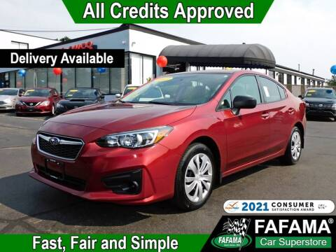 2017 Subaru Impreza for sale at FAFAMA AUTO SALES Inc in Milford MA