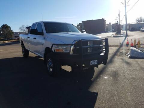 2011 RAM Ram Pickup 3500 for sale at BERKENKOTTER MOTORS in Brighton CO