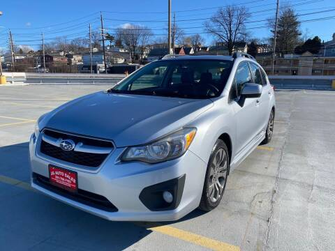 2013 Subaru Impreza for sale at JG Auto Sales in North Bergen NJ