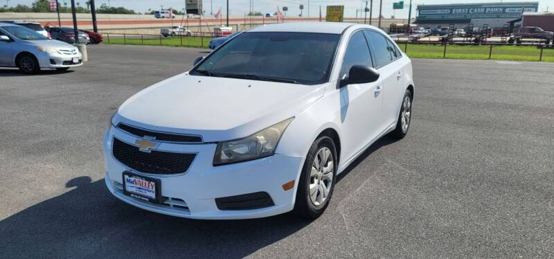 2014 Chevrolet Cruze for sale at Mid Valley Motors in La Feria TX