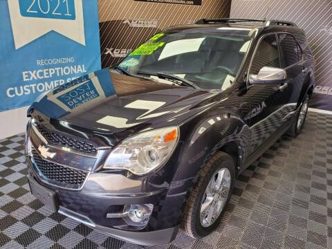 2012 Chevrolet Equinox for sale at X Drive Auto Sales Inc. in Dearborn Heights MI