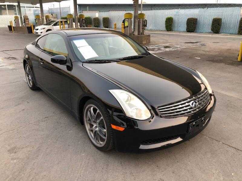 2006 Infiniti G35 for sale at Fast Lane Motors in Turlock CA