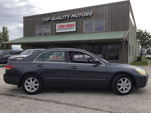 2004 Honda Accord for sale at Top Quality Motors & Tire Pros in Ashland MO