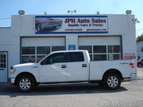 2012 Ford F-150 for sale at JPH Auto Sales in Eastlake OH